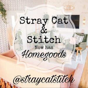 Stray Cat & Stitch Now Introducing Home Goods!